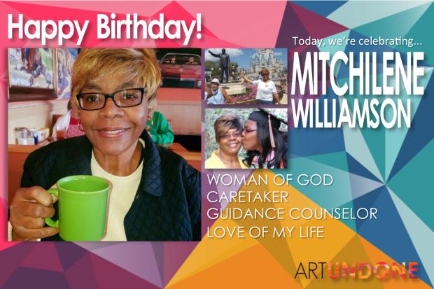 Celebrating - Mitchilene Williamson