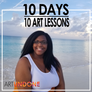 Dec. 18 - 10 Day -10 ART Lessons