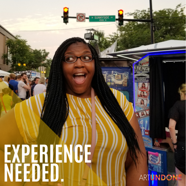 Instagram Post – Experience Needed.