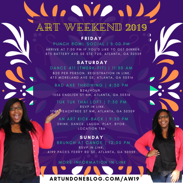 Copy of Art Weekend - Flyer ()